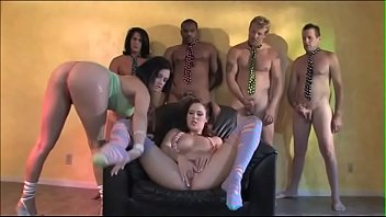 Tory Lane poposed her young friend Trisha Rey to test something special for her birthday with four angry dudes