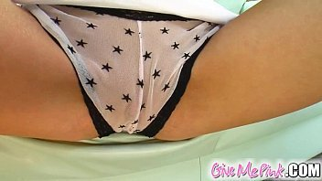 Give Me Pink In Cayenne'_s debut she stuffs panties up her snatch
