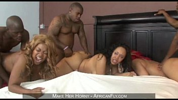 Wild orgy with Vanilla Red and Joei Deluxxx