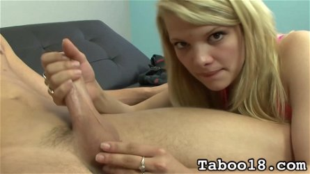 Taboo18 Stella Banxxx Likes To Play With Dick