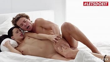 WHITE BOXXX - (Jenny Doll &amp_ Ricky Rascal) Femdom Foreplay With 69 For A Sexy Czech Brunette