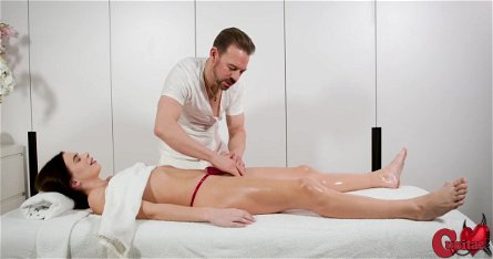 Not A Normal Massage, Jenny Doll And Erik Everhard