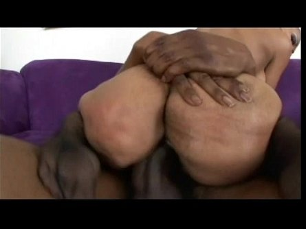 Black stud grips Lacey Duvalle's ass and eats her pussy