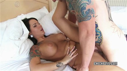 Busty coed Ashton Pierce gets her young pussy fucked hard