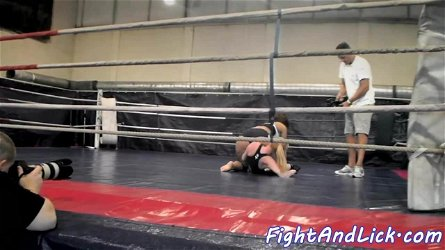 Eurobabes enjoy wrestling on the ground